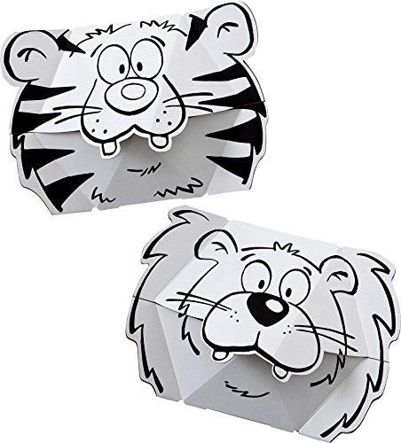 Calafant CALALINOS leeuw en tijgermasker