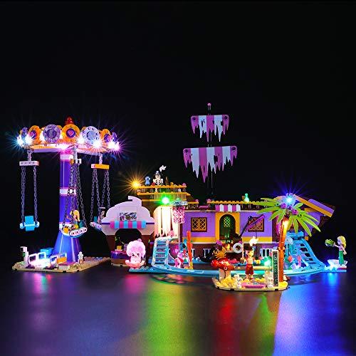 BRIKSMAX Led Beleuchtungsset für Lego Friends Vergnügungspark,Kompatibel Mit Lego 41375 Bausteinen Modell - Ohne Lego Set