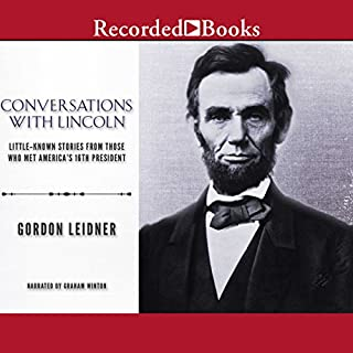 Conversations with Lincoln cover art