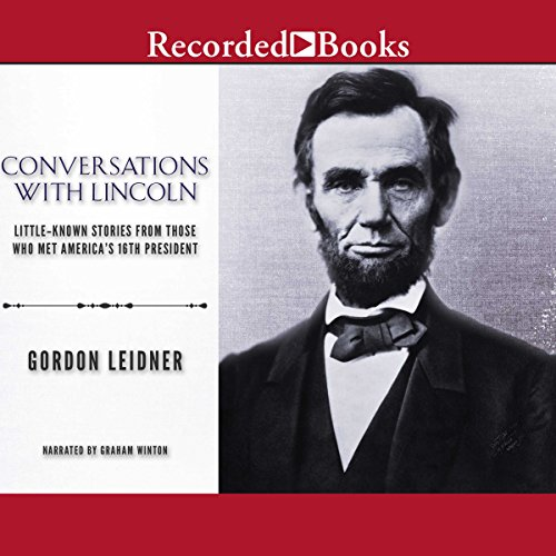 Conversations with Lincoln audiobook cover art