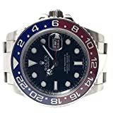 Rolex - Reloj GMT-MASTER II de oro blanco rojo pepsi y azul cerámica jamás usado 1167192016.