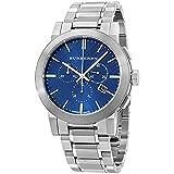 バーバリー BURBERRY 腕時計 ウォッチ ステンレス シティ クロノグラフ ブルー/シルバー BU9363 時計 並行輸入品