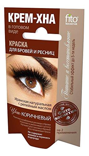 Fito Kosmetik Fito Kosmetik Henné à la Crème pour Sourcils/Cils Brun 2 x 2 ml
