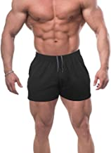 Workout Shorts With Pockets for Men French Terry Cotton 3 5 7 Inch Bodybuilding Clothing