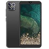 Smartphone Desbloqueado, teléfono móvil con Doble SIM con Pantalla LCD QHD Full HD de 10 núcleos y 6.1 Pulgadas, Smartphone Android, Memoria de 6 + 128G(Negro)