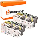Bubprint 10 Druckerpatronen kompatibel für Brother LC-22U LC22U LC-22UBK LC22UC LC22UM LC22UY für DCP-J785DW MFC-J985DW Schwarz Cyan Magenta Gelb