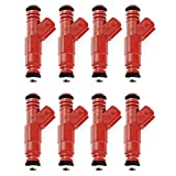 Fuel Injector Connection FIC 36lb for GM LS1 Engines (Set of 8 Fuel Injectors)
