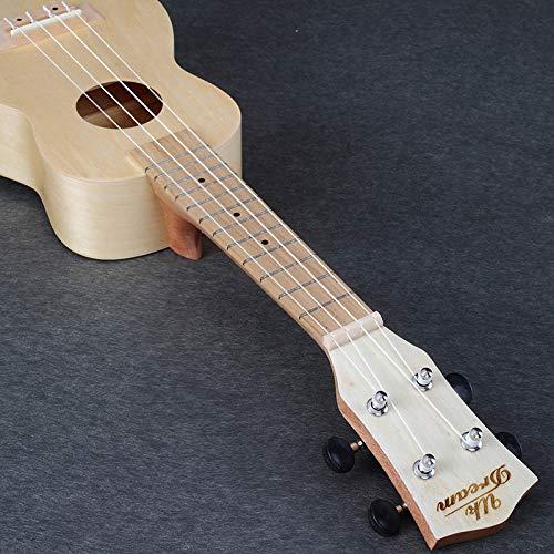 LOIKHGV 21 Zoll Basswood Ukulele 4 Saiten Professionelle Musikinstrumente Gitarren China Semi-Closed Knob, 21 Zoll