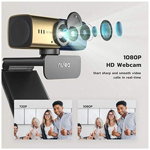 C905 Autoenfoque Webcam con Micrófono, Full HD 1080P/ 30 fps con Cubierta de Privacidad, Cámara Web USB para PC… 5