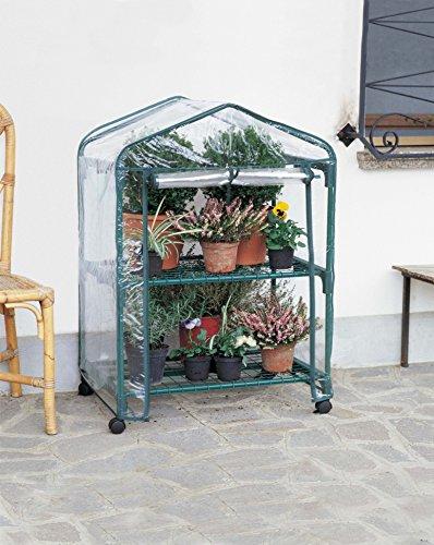 Vendilo Serra 2 Ripiani Ruote cm. 70x50x98