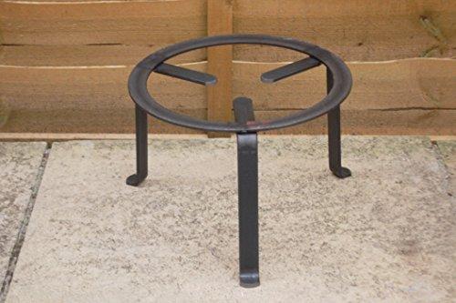 Vaello La Valenciana 2830 - Trabajas redondas forjadas (30 cm), color negro
