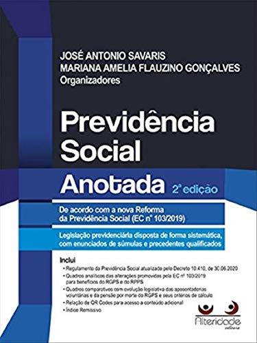 Previdência Social Anotada, 2ed.2020