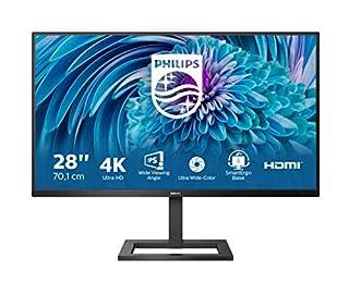 Philips 288E2UAE - 28 Inch 4K UHD Monitor, 60Hz, 4ms, IPS, Speakers, Height Adjust, USB Hub (3840 x 2160, 300 cd/m², HDMI / DP / USB 3.2) (B08SJH6F6L)   Amazon price tracker / tracking, Amazon price history charts, Amazon price watches, Amazon price drop alerts