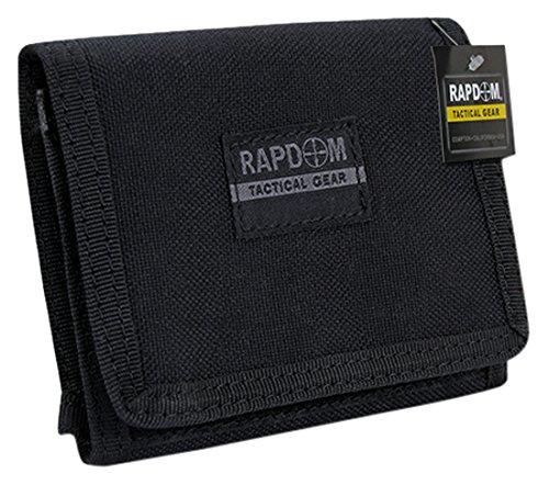 RAPDOM Tactical Wallet, Black