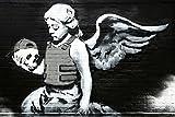 Banksy Ozones Angel Graffiti Cool Wall Decor Art Print Poster 36x24