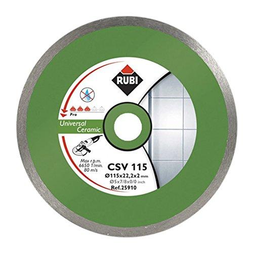 Rubi CSV 115 PRO - Disco de diamante general para cerámica continuo (115 mm)
