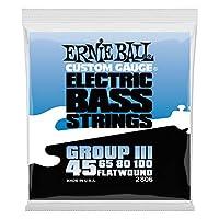 【正規品】 ERNIE BALL 2806 ベース弦 (45-100) FLATWOUND GROUP III BASS フラットワウンド・グループ3 ベース