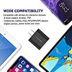 Wall Charger, Amoner Upgraded 2Pack 15W 3-Port USB Plug Cube Portable Wall Charger Plug for iPhone Xs/XS Max/XR/X/8/7/6/Plus, iPad Pro/Air 2/Mini 2, Galaxy9/8/7, Note9/8, LG, Nexus and More 14 Upgraded 15W 3-Port Wall Charger - The upgraded wall charger makes the power output more stable. CE/FCC certificated, built-in safeguards protect your devices against over-current, over voltage and short-circuit Upgraded Charging Technology - With Smart IC technology, the wall charger will automatically detect and provide the fastest possible charging speed up to 2A one port or 3A total Wide Compatibility - This Wall Charger can be used as iPhone wall charger, compatible with iPhone Xs,Xs Max, Xr, X, 8, 7, 6 Plus, Samsung Galaxy S10/S9/S8/Plus/S7/Note 8/9/7, Moto Z2/Z Force, LG V20/V30/G7/G6/G5, Lumia 950 & XL, Google Pixel 3/2 & XL; Kindles and more