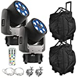 (2) Chauvet DJ Intimidator Trio Moving Heads Package