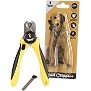 Thunderpaws Professional-Grade Dog Nail Clippers and Trimmers with Protective Guard, Safety Lock and Nail File - Suitable for Medium and Large Breeds