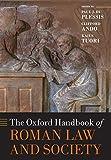 OXFORD HANDBK OF ROMAN LAW & S (Oxford Handbooks) - Paul J. Du Plessis