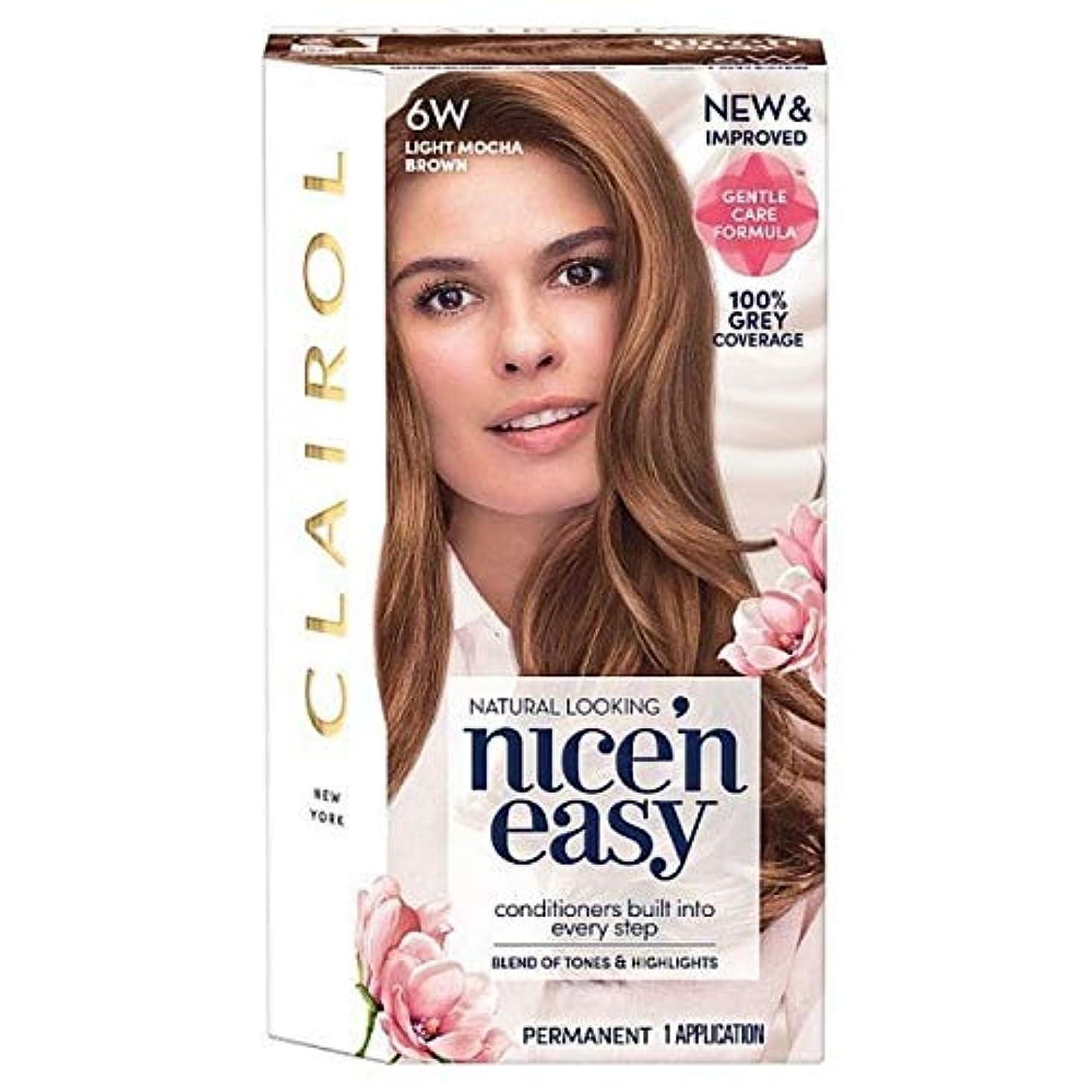 値するマナーリクルート[Nice'n Easy] Nice'N簡単に6ワットライトモカブラウン - Nice'n Easy 6W Light Mocha Brown [並行輸入品]