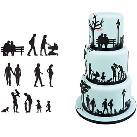 CAKE SUGAR CRAFT CUTTERS METAL Cake Christmas Wedding Birthday KIT BOX
