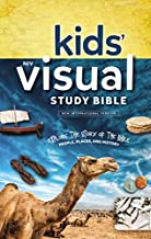 NIV, Kids' Visual Study Bible, Hardcover, Blue, Full Color Interior: Explore the Story of the Bible---People, Places, and History