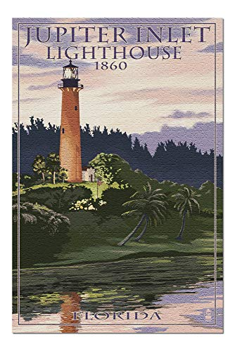 Promini Jupiter, Florida - Jupiter Inlet Lighthouse - 1000 Piece Jigsaw Puzzles for Adults Kids, Puzzles for Toddler Children Learning Educational Puzzles Toys for Girls Boys 20' x 30'