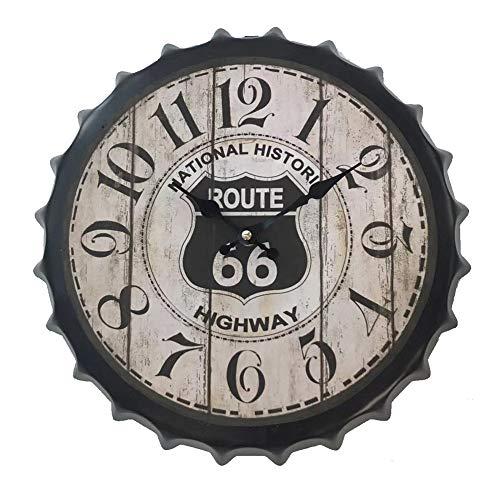 DIDA CLOCK Ruta 66 Cápsula Signo De Pared Reloj De Pared 12# 35cm(14inch)