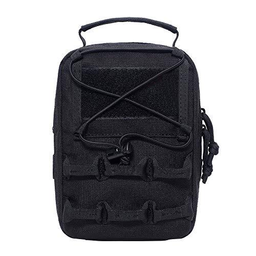 MEROURII Bolsos tácticos, mochila táctica, mochila de hombro táctica, mochila para senderismo, senderismo, viajes, motocicleta