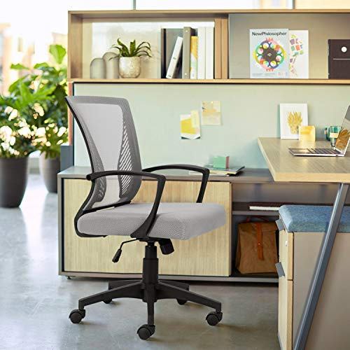 VICTONE Office Mid Back Mesh Chair