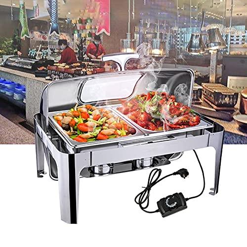 FGHFD 9L Calentador de Comida - Chafing Dish Acero...