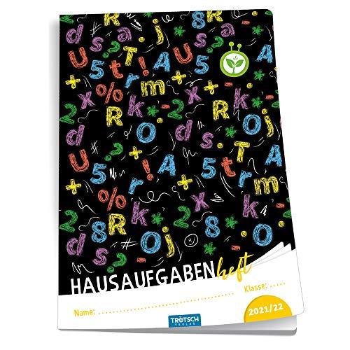 Trötsch Hausaufgabenheft Grundschule Buchstaben 2021/2022: Planer Schülerkalender Hausaufgabenheft Timer für die Grundschule (Hausaufgabenheft: jahresbezogen)