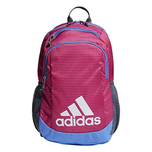 adidas Kinder Jungen Mädchen Young Creator Rucksack, Unisex-Kinder, Rucksack, Youth Creator Backpack, Semi Solar Pink Sundown / Real Blue / Onix, Einheitsgröße