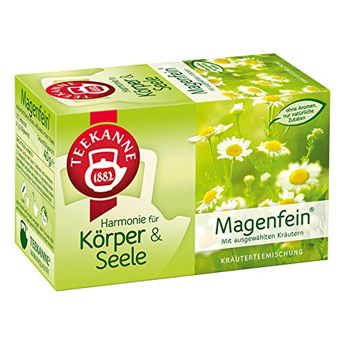 Teekanne Harmonie 20er, Magenfein