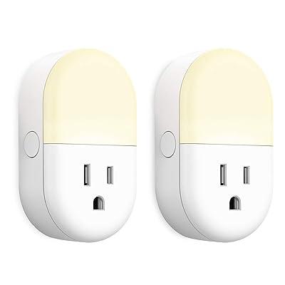 iMah Smart Outlet Plug, WiFi Smart Plug with Ni...