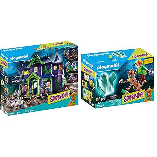 Playmobil Scooby-Doo! 70361 La Casa Del Mistero, Con Luci E Suoni, Dai 5 Anni & Scooby-Doo! 70287 Scooby E Shaggy, Dai 5 Anni