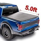 Mamoru Hard Tri-Fold 5 FT Truck Bed Cover For 2005-2021 Nissan Frontier Tonneau Cover;2009-2012 Suzuki Equator|Fleetside