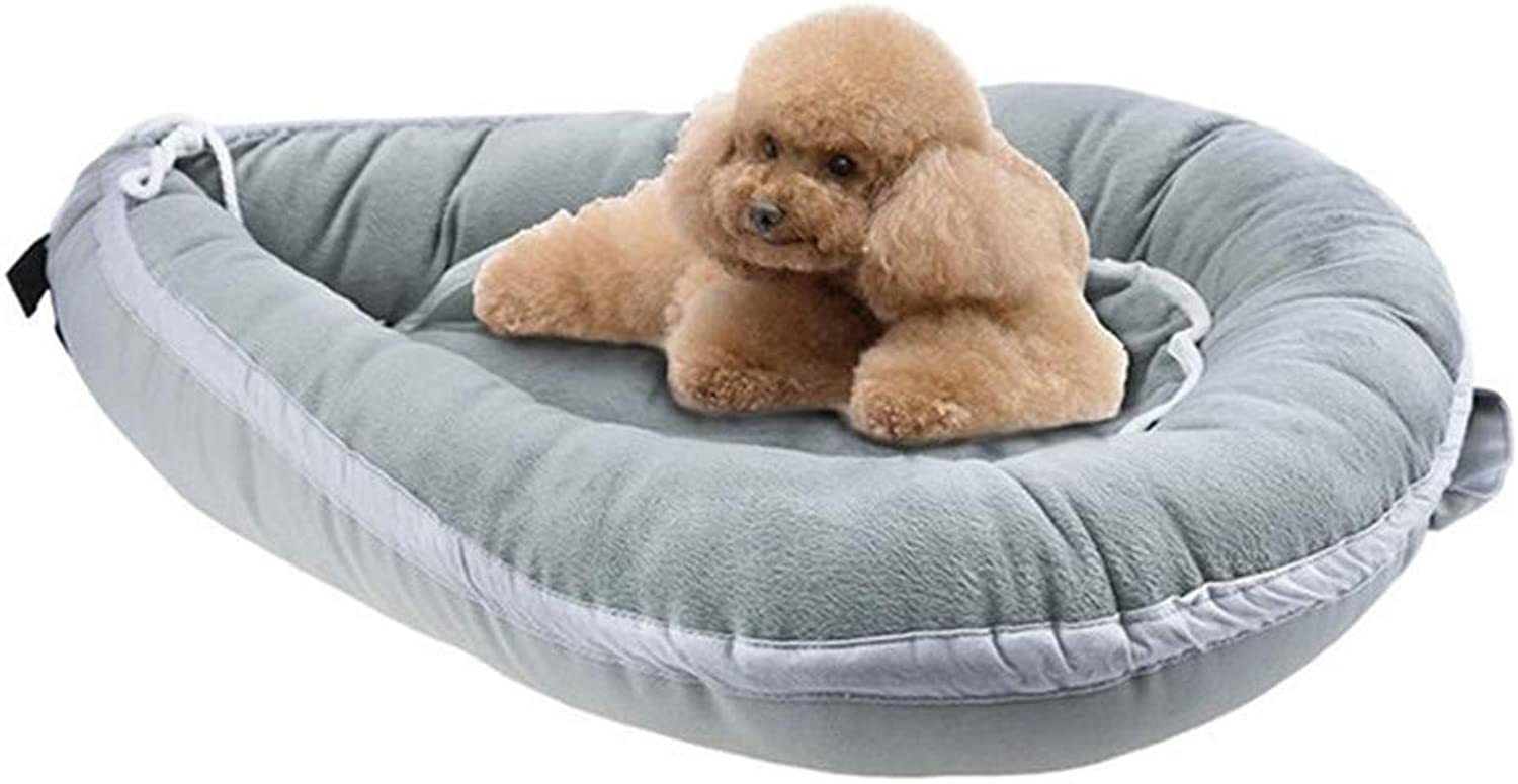 Bed in The pet Bed, Four Seasons Washable pet nest with Mattress Pet Nest