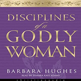 Disciplines of a Godly Woman audiobook cover art