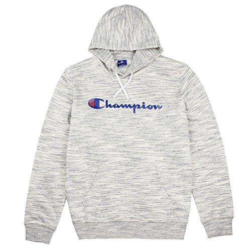 Champion Herren Hooded Sweatshirt Kapuzenpullover, Grau (Snnm), X-Large