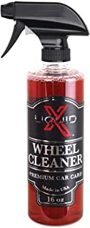 Liquid X Wheel Cleaner - Easily Removes Stubborn Brake Dust, Non-Acidic Formula (16oz)