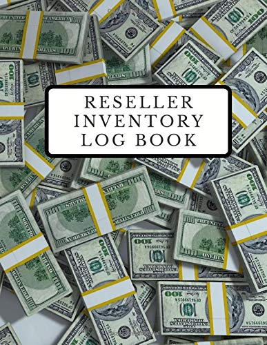 Reseller Inventory Log Book: Product Listing Notebook for Online Sellers