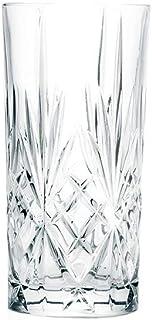 6 Verres à Cocktail/Apéritif en Cristal - Service Romeo (36 cl) - Maison Klein - Artisan du Cristal - Coffret Cadeau - Est...