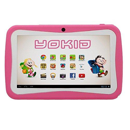 Yonis - Tablette Tactile Enfant Yokid 7 Pouces Éducative Android 4.1 Rose - Rose
