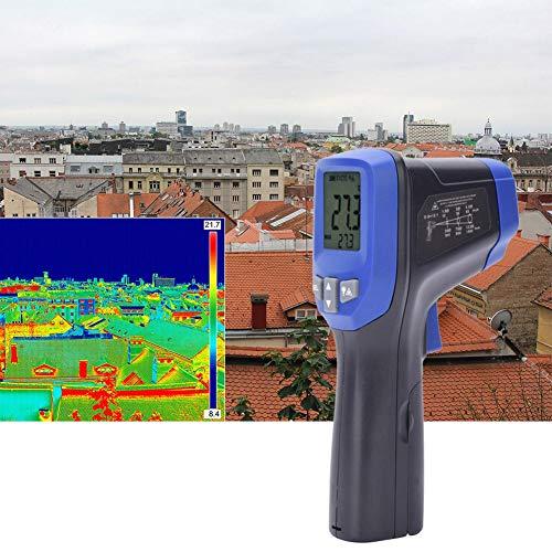Rosvola Termómetro infrarrojo IR-826, Mini termómetro infrarrojo de Mano Termómetro electrónico Digital portátil al Aire Libre