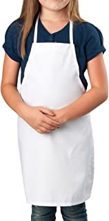 KNG Aprons Kng Child's Apron Medium White