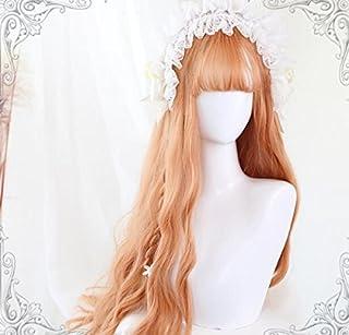 耐熱コスプレウイッグ かつら70cmロングヘア ロリータ風日常原宿風GAL系小顔効果wig cosplay