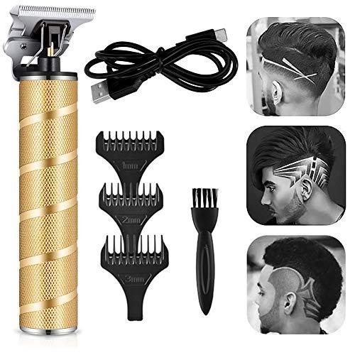 IWILCS Cortadora de pelo eléctrica, eléctrico profesional en T, perfilador eléctrico con...